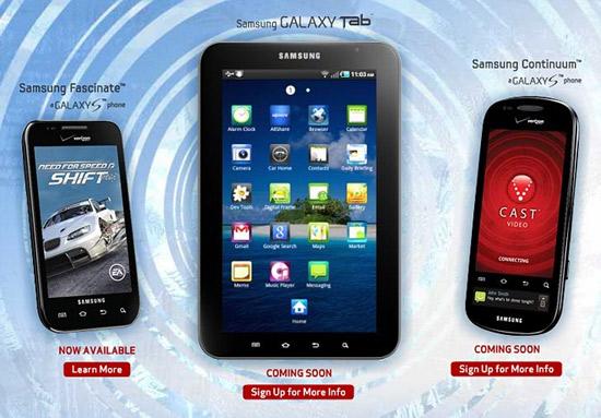Samsung dévoilera ses nouveaux mobiles le 8 Novembre, dont le Continuum ?