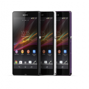 Xperia Z color range
