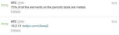 HTC tweet