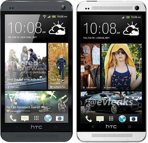 HTC_One noir et blanc